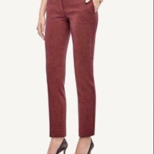 Ann Taylor Kate Geo Everyday Ankle Pants  4P